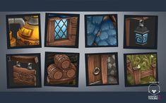 ArtStation - Medieval brewery, Antonio Neves