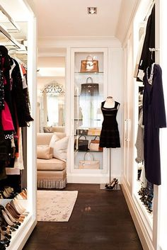 How to Turn your Closet into a Celebrity Style Dressing Room (part 2