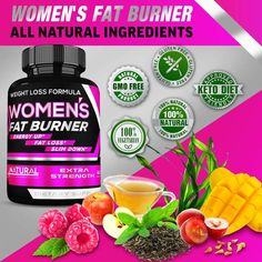 Fat Burner Thermogenic Weight Loss Diet Pills That Work Fast for Women 6 – Weight Loss Supplements – Keto Friendly- Carb Blocker Appetite Suppressant Gluten Free Weight Loss, Fat Burner Pills, Carb Blocker, Diet Pills That Work, Raspberry Ketones, Flat Tummy, Weight Loss Supplements, How To Slim Down, Cider Vinegar