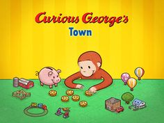 Curious George's Town ($2.99) Curious George needs your child's help doing odd jobs around town, so he can save money and buy fun, new items for his very own world. Each of George's jobs is a free play game that helps children learn about animals, fruits and recycling. Earning coins and saving them to purchase fun new items for their town teaches kids how save their money in order to accomplish a goal. Oh, and buy dinosaurs of course! (NOTE - not real money)