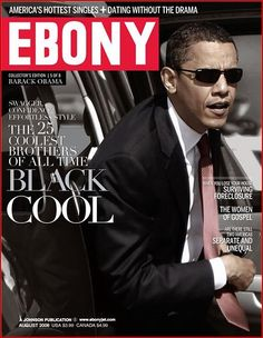 A poster based upon a popular Ebony Magazine cover that featured the President of the United States of America, Barack Obama. It was entitled Black Cool and has been one of our most popular Barack Obama posters. Michelle Obama, First Black President, Mr President, Current President, Black Presidents, American Presidents, American History, Joe Biden, Durham