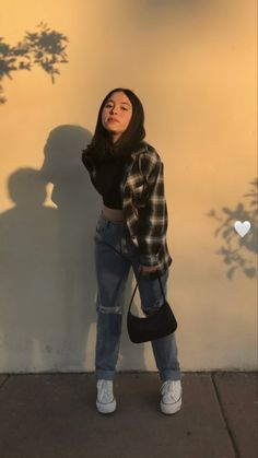 Swaggy Outfits, Cute Casual Outfits, Stylish Outfits, Summer Outfits, Teenage Girl Outfits, Teen Fashion Outfits, Retro Outfits, Tomboy Fashion, Streetwear Fashion