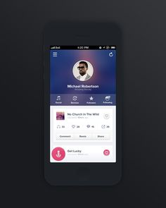 Music Sharing Application Profile
