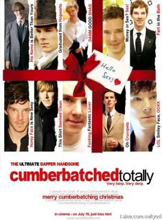 """Ah, but Mr. Cumberbatch, only you (and possibly Tom Hiddleston) could make the phrase """"fart in the bath"""" sound classy."""