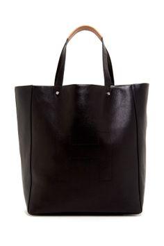 Simple Black Tote //