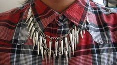 Spike ketting/necklace