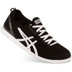 ASICS Metrolyte Women's Slip-On Walking Shoes ❤ liked on Polyvore featuring shoes, walking shoes, arch support walking shoes, arch support shoes, asics footwear and slip-on shoes
