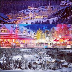 Canada skiing at Christmas..  Oh my!
