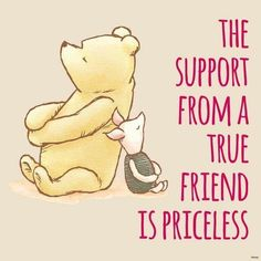 Winnie the pooh quotes friendship friends thoughts 22 ideas Winnie The Pooh Quotes, Winnie The Pooh Friends, Eeyore Quotes, Best Friend Quotes, Best Friends, Friends Forever, Work Friends, Online Friends, Pooh Bear