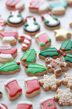 Mini Christmas Cookies   Christmas Desserts
