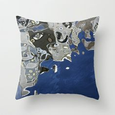 Reflection in canal, Amsterdam Throw Pillow by dAnielles flow - $20.00