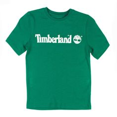 Timberland Logo   Timberland Logo Printed Boys Green Summer T-Shirt > Timberland > Kids ...