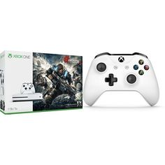 Xbox One S 1TB Console – Gears of War 4 Edition + Extra Controller Bundle #deals