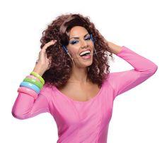 Katy Perry Last Friday Night Costume Wig & Braces Set Adult