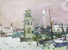 Rudolf Hradil (Austrian, 1925 - 2007) – 36 фотографий Gouache, Watercolor, Painting, Image, Watercolor Painting, Pen And Wash, Painting Art, Watercolour, Paintings