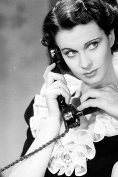 Vivien Leigh, 1937, in a production shot from Dark Journey