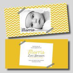 Geboortekaartje | MOOI OOK