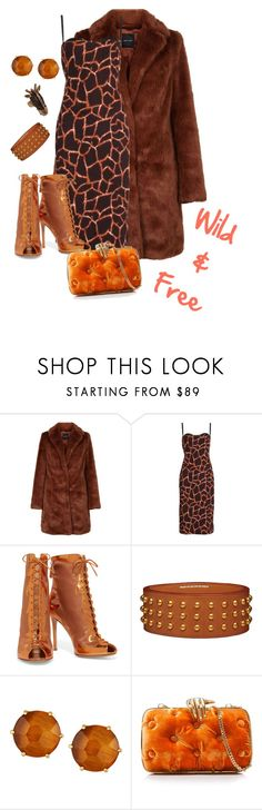 """""""Wild & Free"""" by rolivian ❤ liked on Polyvore featuring Dolce&Gabbana, Gianvito Rossi, Ippolita, Benedetta Bruzziches, Valentino, classy, fabulous, wildside, polyvorefashion and fall2017"""