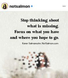 Karen Salmansohn, What Is Miss, Stop Thinking