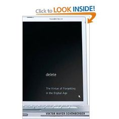 Delete: The Virtue of Forgetting in the Digital Age (New in Paper)