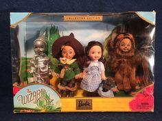 3 Sets Mattel Kelly Dolls: Friends Of The World Wizard Of Oz Nostalgic Favorites Barbie Sisters, Barbie Family, Barbie Kelly, Barbie And Ken, Barbie Doll Accessories, Barbie Skipper, Dream Doll, Beautiful Barbie Dolls, Disney Dolls
