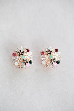 Bouquet Stud Earrings