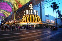 Four Queens. El Casino más famoso de la capital mundial del juego no  podía estar situado muy lejos de la primera posición en los casinos más conocidos. Un casino que hay que intentar visitar al menos una vez en la vida.