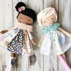 Sweet handmade Rag Dolls SpunCandy