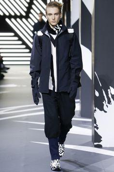 Y-3 menswear collection, autumn/winter 2014