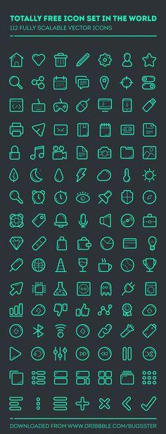 icones-contours-gratuites