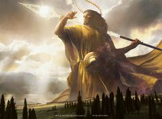 Magic the Gathering, Gods of Theros: Heliod, God of the Sun, by  Jamie Jones