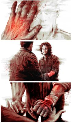{click through} Good post with this. But I just like the emotion shown, on how broken Sam is yet still standing.