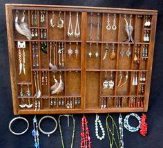 Medium Jewelry Organizer Custom Order Earring by BizarreIntentions, $105.00