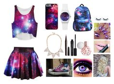 """""""Galaxy"""" by martineeikefjord on Polyvore featuring HVBAO, Lulu Frost, Fiebiger, Marc Jacobs and Smashbox"""
