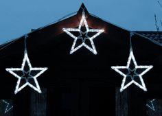 Konst Smide EXTENDABLE LED SET of 3 STARS Light System