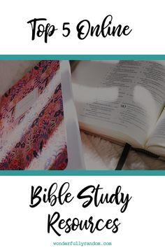 Top Online Bible Study Resources #Bible #Devotional #BibleStudy #MorningRoutine #Christian #Faith
