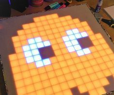 Build your own 16x16 LedMatrix now on Instructables!