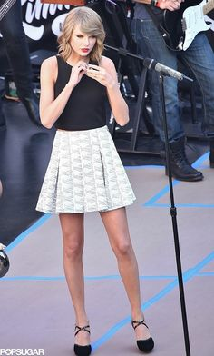 On Thursday, Taylor Swift prepped for her LA performance on Jimmy Kimmel Live.