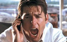 "Jerry Maguire  ""show me the money!"""