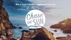 Dreaming about which corner of the world should be on your radar next? Enter before August for a chance to chase the sun and win a tour for two. Chasing The Sun, Sri Lanka, Egypt, Competition, Thailand, Spain, Tours, World, 21st