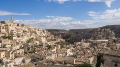 Sassi Di Matera - The Sassi di Matera are ancient cave dwellings carved into the lava in the Italian city of Matera, Basilicata. Situated in the old town, they are composed of the Sasso Caveoso and the later Sasso Barisano.