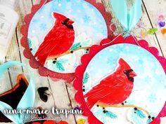 Studio Monday with Nina-Marie: Stamped Ornaments & Hero Arts | Simon Says Stamp Blog