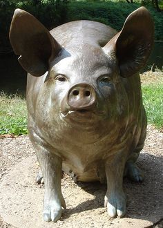 This is Helen the pig, from outside the Brandywine Museum. I loved it so much, it was the first picture I took with my cell phone. Since that phone died, I had to find this pix on the internet.