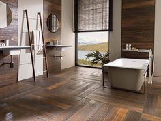 Hampton Brown 14,3 x 90 cm / 22 x 90 cm Par-Ker porcelanosa