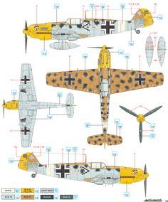 Bf-109 desert camo