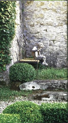 """""""A Greek boy, pox-ridden with lichen, cast an anguished look back at the house from the parterre."""" The Lantern, Deborah Lawrenson"""