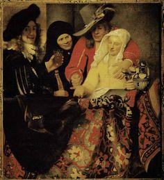The Procuress 1656; Oil on canvas, 143 x 130 cm; Gemaldegalerie Alte Meister - Staatliche Kunstsammlungen, Dresden