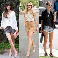 Aí estão algumas sugestões de looks com shorts. @sbtesquadraodamoda #NadaParaVestir #NadaPraVestir #ArlindoTeVeste #ComoUsarComArlindo #SemDramaComArlindo #TemNoSeuGuardaRoupa #ConselhosDeEstilo #DicasDeEstilo #TenhaEstilo #FashionTips ;-)