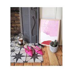 Customer Photos - Customer's Bathroom & Kitchen Pics - Tons of Tiles Kitchen Pictures, Kitchen Pics, Wood Burner Fireplace, Carpet Fitters, Star Wall, Wall And Floor Tiles, Home Room Design, Patterned Carpet, Carpet Tiles