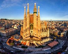 La Sagrada Familia has become one of the most popular tourist attraction. Millions of tourists visit La Sagrada Familia annually to see how beautiful Roman church built by one of the most brilliant architects, Antoni Gaudi.